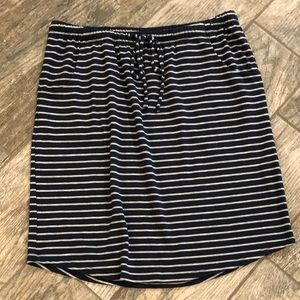 Soft and comfy Striped skirt